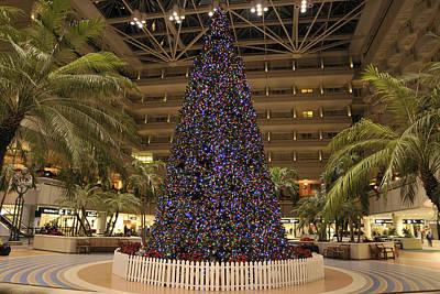 Photograph - Airport Christmas Tree by Bradford Martin