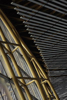 Photograph - Airport Lines by Dave Hall