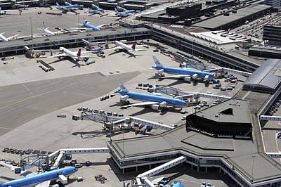 Photograph - Airport Schiphol, Amsterdam by Bram van de Biezen