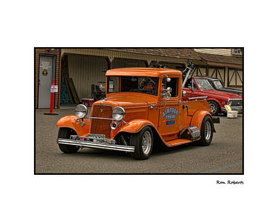 Photograph - Airport Towing by Ron Roberts