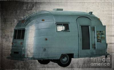 Photograph - Airstream  by Edward Fielding