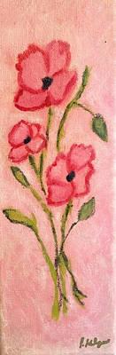 Aislinn's Poppies Art Print by Pamela Kilgus