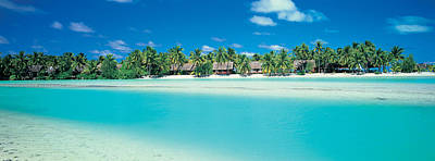 Atoll Photograph - Aitutaki Atoll, Cook Islands, New by Panoramic Images