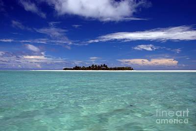 Photograph - Aitutaki Paradise 1535 by Colin Munro