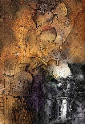 Ajantha Art Print by Nm