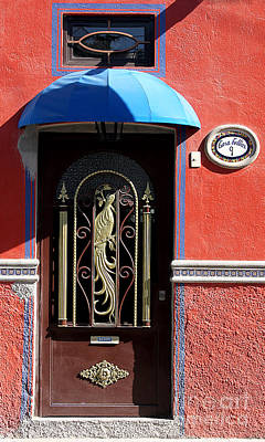 Photograph - Ajijic Door #8 by PJ Boylan
