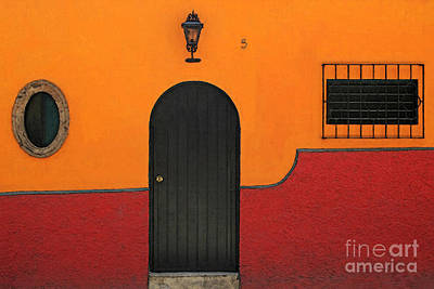 Photograph - Ajijic Door No.4 by PJ Boylan