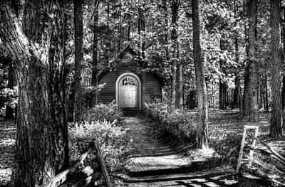 Photograph - Ajsp Chapel Bw by Andy Lawless