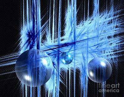 Licht Mixed Media - Aktion by Vera  Laake