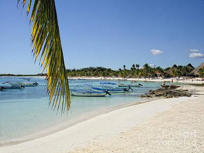 Akumal Beach - Yucatan - Mayan Riviera - Mexico Art Print