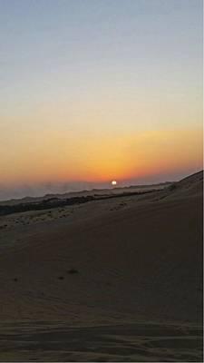 Al Ain Desert 20 Art Print