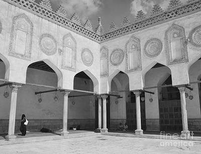 Al Azhar Mosque Cairo Art Print by Nigel Fletcher-Jones