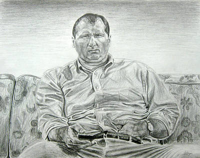 Drawing - Al Bundy by Michael Morgan