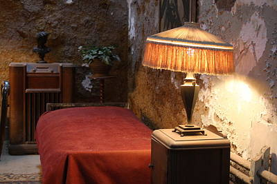 Photograph - Al Capone's Cell At The Eastern State Penitentiary by Vadim Levin