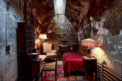Photograph - Al Capone's Cell by Michael Dorn