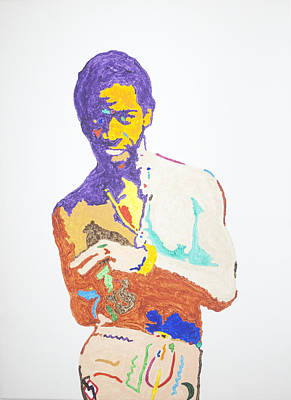 Black Gospel Painting - Al Green by Stormm Bradshaw