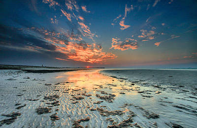 Art Print featuring the photograph Al Hamra Sunset by Robert  Aycock