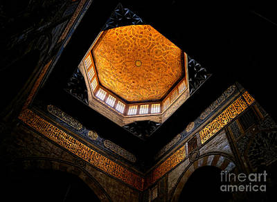 Photograph - Al Ishaqi Mosque by Nigel Fletcher-Jones