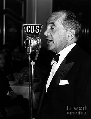 Photograph - Al Jolson - You Ain't Heard Nothin' Yet  by Doc Braham