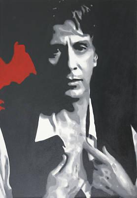 Al Pacino 2013 Print by Luis Ludzska