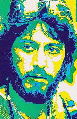 Police Art Mixed Media - Al Pacino In Serpico by Art Cinema Gallery