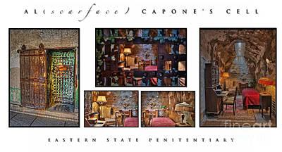 Philadelphia Photograph - Al Scarface Capone's Cell by Susan Candelario