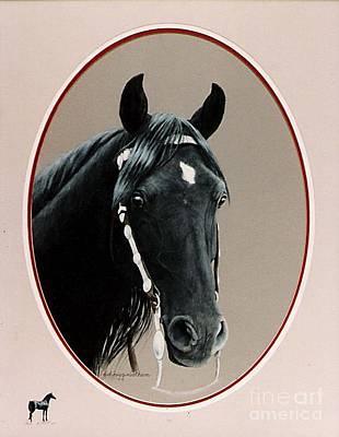 Al Zirr Portrait Art Print by DiDi Higginbotham