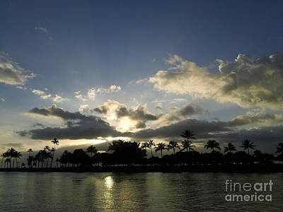 Photograph - Ala Wai Skies by Laura  Wong-Rose