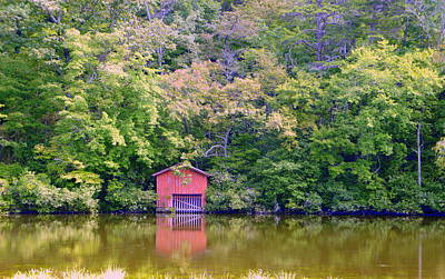 Photograph - Alabama Boat House by Laurie Perry