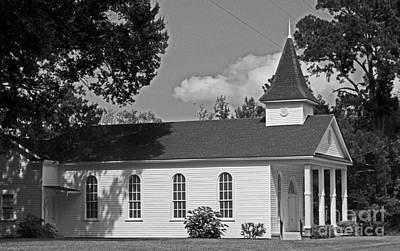 Alabama Church Art Print by Kimberly Saulsberry