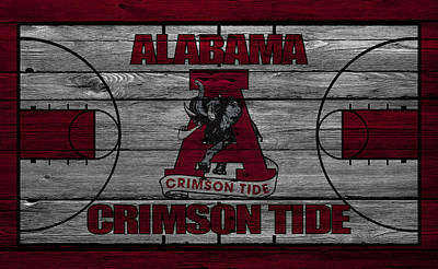 Coach Photograph - Alabama Crimson Tide by Joe Hamilton