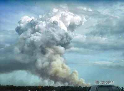 Bama Photograph - Alabama Fire by Carol Oufnac Mahan