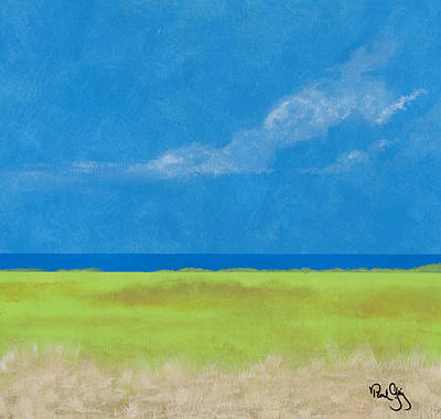 Painting - Alabama Gulf Coast 1 by Paul Gaj