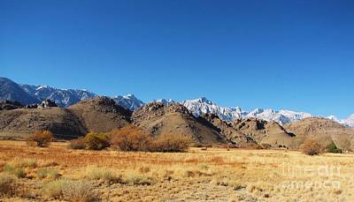 Photograph - Alabama Hills by Michele Penner