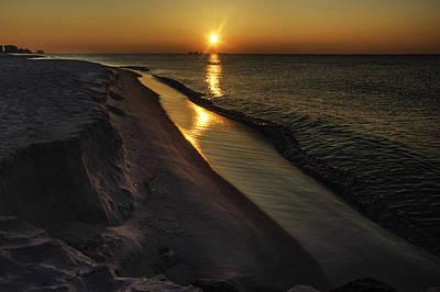 Digital Art - Alabama Sea Cliffs by Michael Thomas