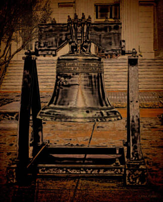 Photograph - Liberty Bell Art Alabama State Capital Building  by Lesa Fine
