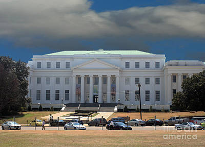 Photograph - Alabama State Department Of Archives And History Building by Lesa Fine