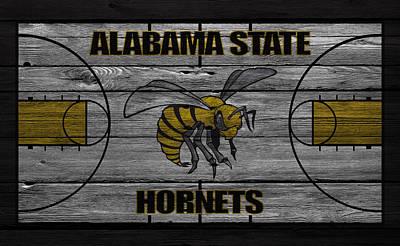 Alabama State Hornets Art Print by Joe Hamilton