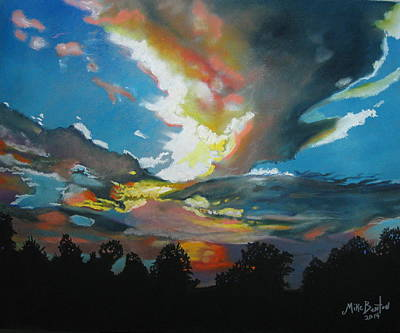 Pastel - Alabama Sunset by Mike Benton