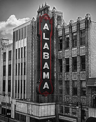 Alabama Theater Art Print