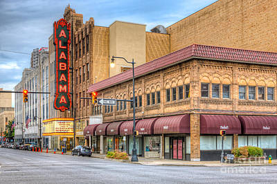 Photograph - Alabama Theatre I by Clarence Holmes