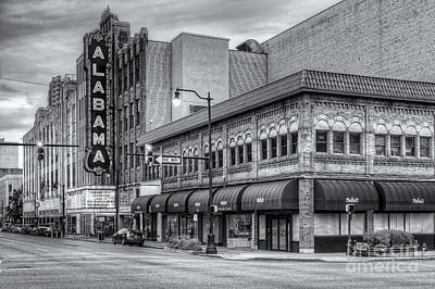 Photograph - Alabama Theatre II by Clarence Holmes