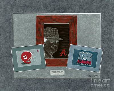 Alabama Trio  Art Print by Herb Strobino