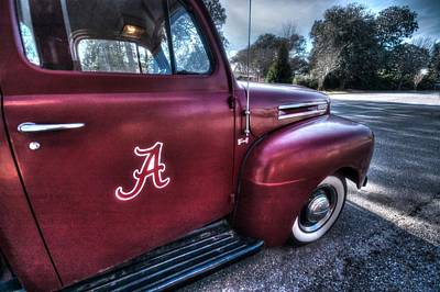 Digital Art - Alabama Truck by Michael Thomas