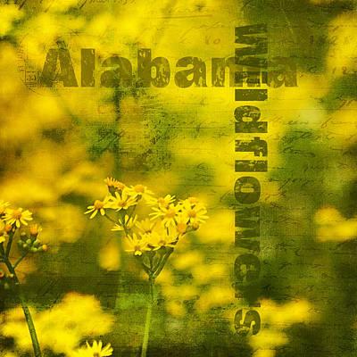 Golden Ragwort Photograph - Alabama Wildflowers - Butterweed by Kathy Clark