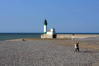 Fecamp Photograph - Alabaster Coast Lighthouse by Aidan Moran