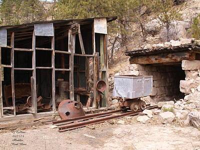 Photograph - Aladdin Coal Mine by Gordon Collins