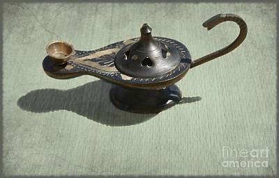 Aladdin Photograph - Aladdin's Lamp 2 by Sophie Vigneault