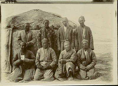 Stein Photograph - Alai Kirghiz At Kara-chim by British Library