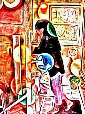 Etc. Digital Art - Alaine by HollyWood Creation By linda zanini